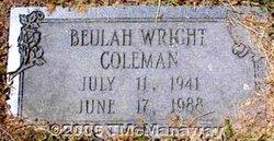 Beulah <i>Wright</i> Coleman