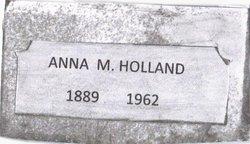 Anna Maunitia Annie <i>Creegan</i> Holland