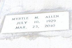 Myrtle M Allen