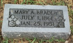 Mary A <i>Stephens</i> Braddy