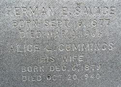 Herman Eugene Savage