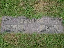 Mary Margaret Mollie <i>Creegan</i> Foley