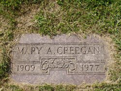 Mary Agnes <i>McGraw</i> Creegan