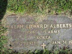 Pvt Ralph Edward Albertson