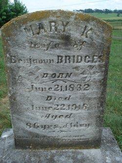 Mary K. <i>Owens</i> Bridges