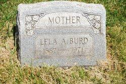 Lela A <i>Gano</i> Burd