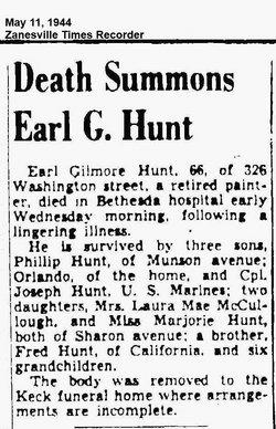 Earl Gilmore Hunt