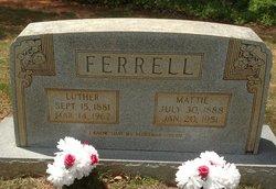 Mattie S. <i>Deaton</i> Ferrell