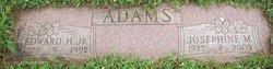 Alma Josephine Millie <i>Harrison</i> Adams