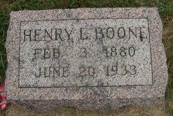 Henry E. Boone