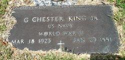 Chester G King, Jr