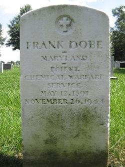 Lieut Frank Dobe