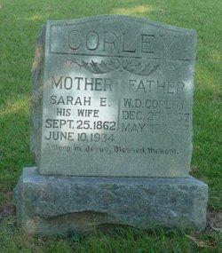 Sarah Sallie E. <i>Boon</i> Corley