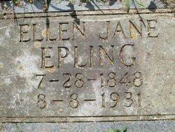 Ellen Jane <i>Vaught</i> Epling