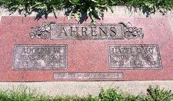 Adolph W Ahrens
