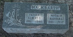Albert Gustave Hackbarth
