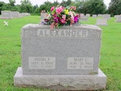 Mary Catherine <i>Hutzell</i> Alexander
