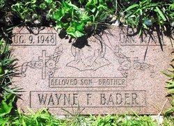 Wayne Bader