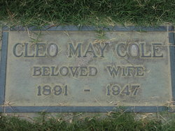 Cleo May <i>Leaverton</i> Cole