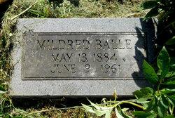 Mildred E <i>Wilson</i> Balle