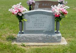 Paige Lee Ann Balle