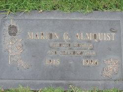 Marion G <i>Harris</i> Almquist