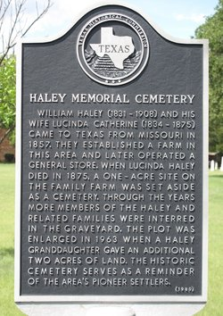 Haley Memorial Cemetery