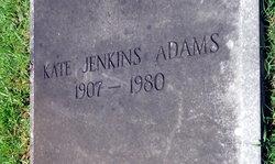 Kate <i>Jenkins</i> Adams