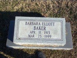 Barbara <i>Elliott</i> Baker