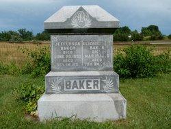 Elizabeth A. <i>Lentz</i> Baker