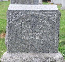 Alice S <i>Fry</i> Lehman