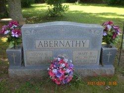 Mary Elizabeth <i>Russell</i> Abernathy