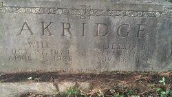 Charles William Will Akridge, Sr