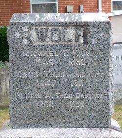 Annie <i>Trout</i> Wolf