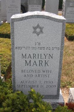 Marilyn I <i>Sabetsky</i> Mark