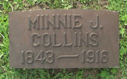 Minnie J <i>Sanford</i> Collins