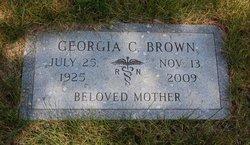 Georgia <i>Calhoun</i> Brown