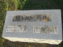 Mary Frances <i>Vogt</i> Allington