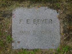 F. E. Beyer