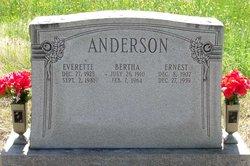 Bertha S. Anderson