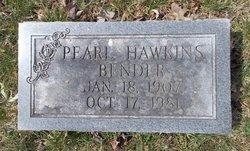 Pearl <i>Hawkins</i> Bender