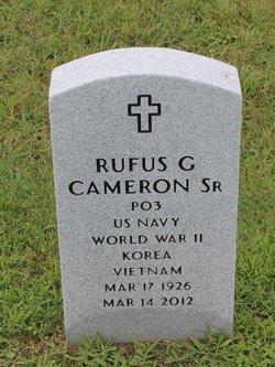 Rufus G Cameron, Sr