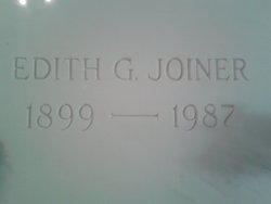 Edith G. Joiner