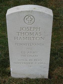 PFC Joseph Thomas Hamilton