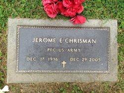 Jerome Edward Jerry Chrisman