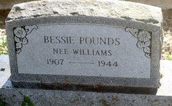 Bessie Lavania <i>Williams</i> Pounds