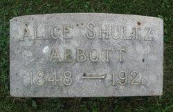 Alice <i>Shultz</i> Abbott