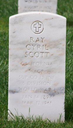 Raymond Cyril Ray Scott