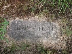 Lizzie W <i>Boynton</i> Pease