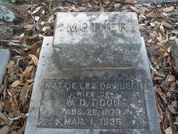Mattie Lee <i>Davidson</i> Boon